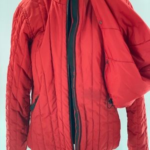 Red Nike coat size M